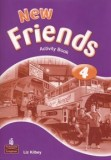 New Friends 4 Activity Book