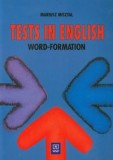 Tests in English Word Formation