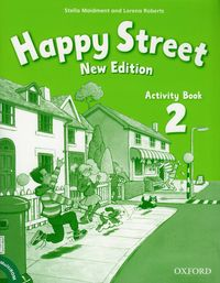 Happy Street NEW 2 WB+CD OXFORD - Maidment Stella, Roberts Lorena