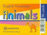 English Vocabulary Animals 96 kart