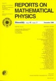 Reports on Mathematical Physics 79/1 2017