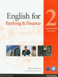 English for Banking & Finance 2 Course Book  + CD