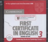 First Certificate in English 3 CD