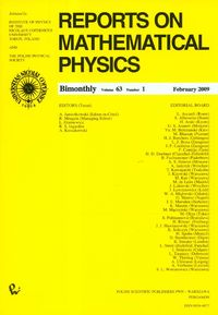 Reports on Mathematical Physics 79/1 2017 - brak