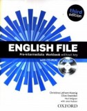 English File Third Edition Pre-intermediate Workbook & iChecker Pack