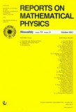 Reports on Mathematical Physics 72/2