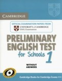 Cambridge preliminary english test for schools 1 student's book