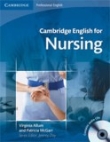 Cambridge english for nursing intermediate plus student's book +cd