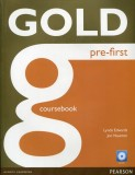 Gold Pre-First Coursebook with CD