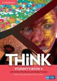 Think 5 Student's Book with Online Workbook and Online Practice