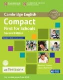 Compact First for Schools Student's Book without Answers + CD with Testbank