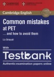 Common Mistakes at PET with Testbank