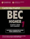 Cambridge English BEC Higher 1. Student's Book with answers