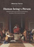 Human being v Person